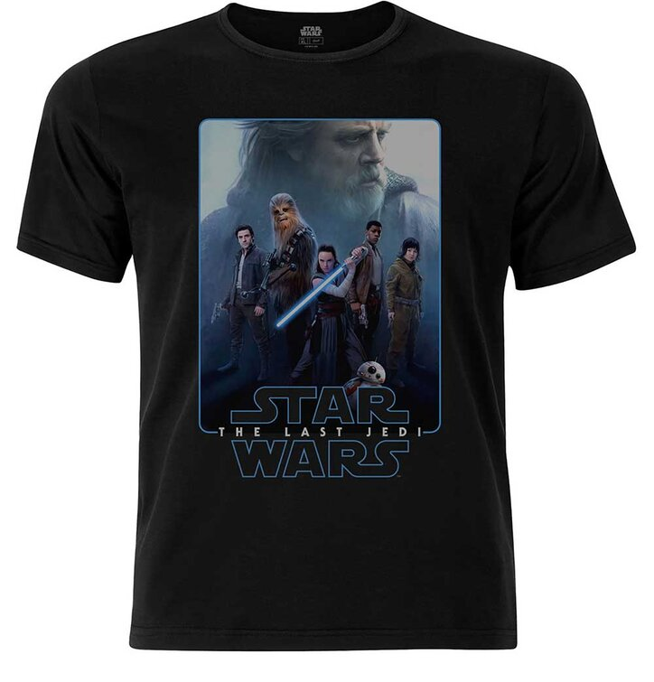 Tričko Star Wars Men's Premium Tee: Episode VIII The Force Composite