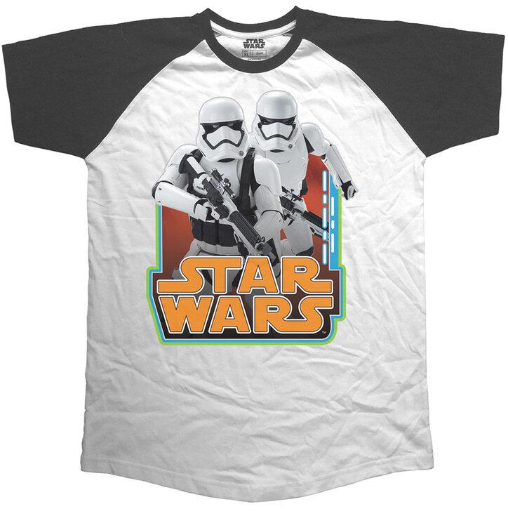 Tričko Star Wars Classic Troopers & Logo