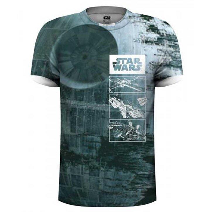 Tričko Star Wars Death Star 1