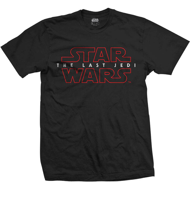 T-Shirt Star Wars Episode VIII The Last Jedi Logo