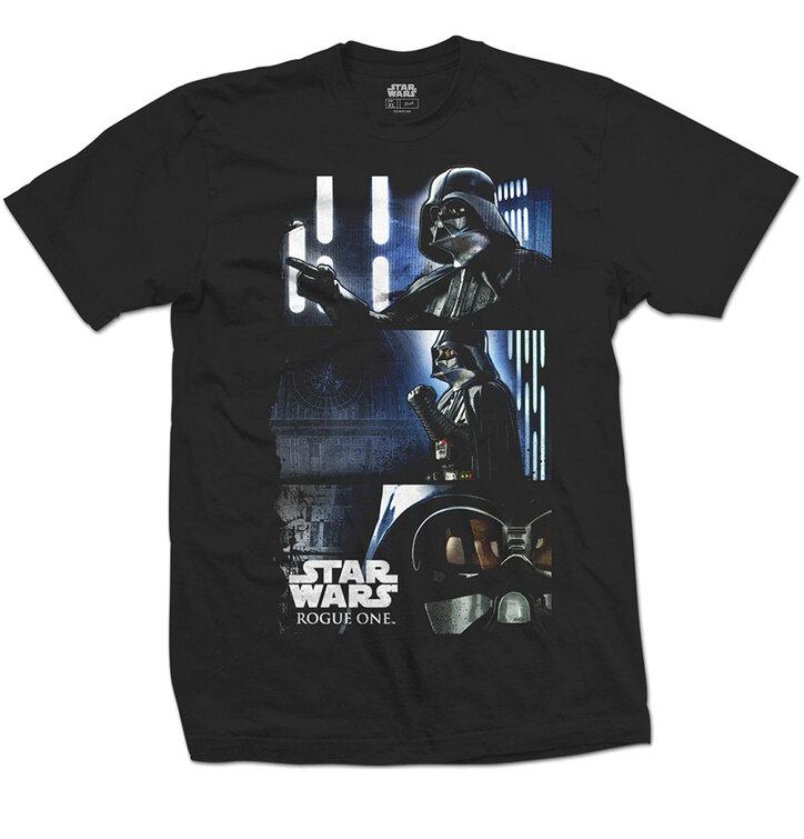 Tričko Star Wars Rogue One Darth Triptych