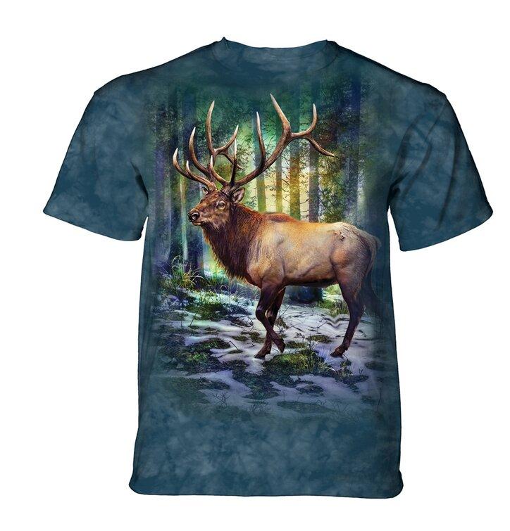 Tričko Jeleň a stromy