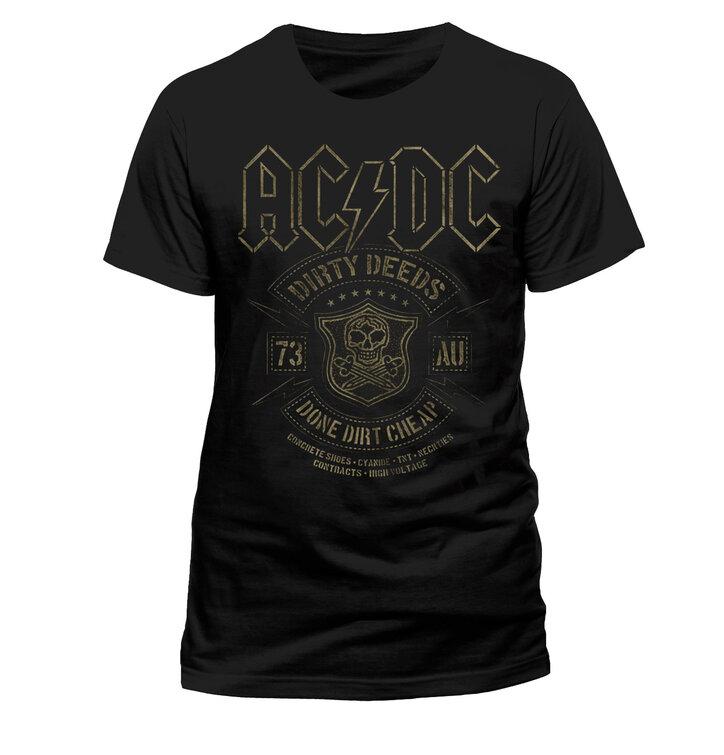 Tričko AC/DC Done Cheap