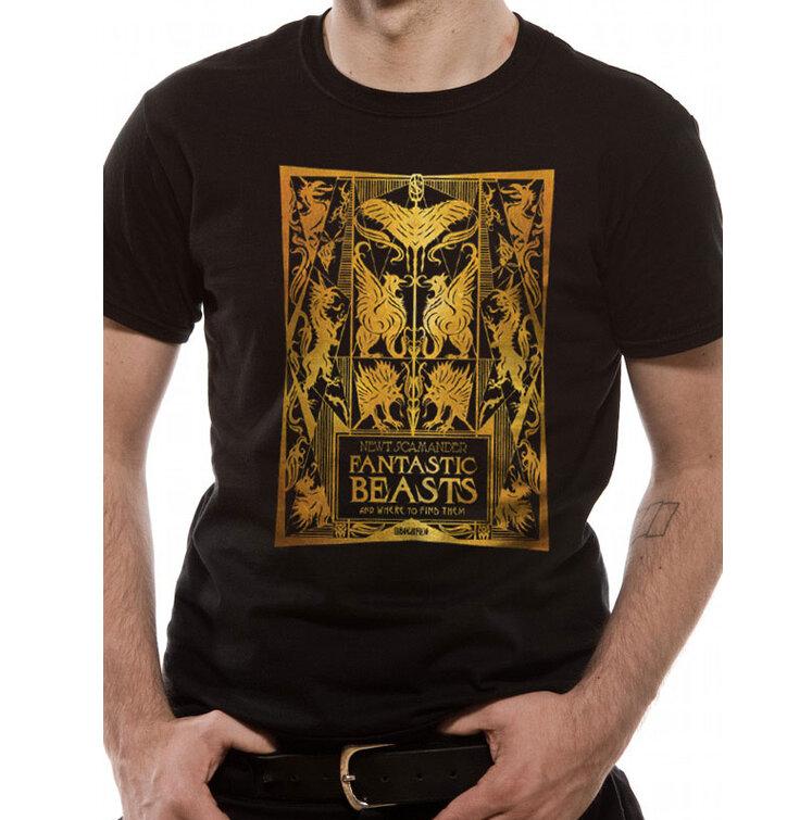 T-Shirt Grindelwalds Verbrechen Gold Foil
