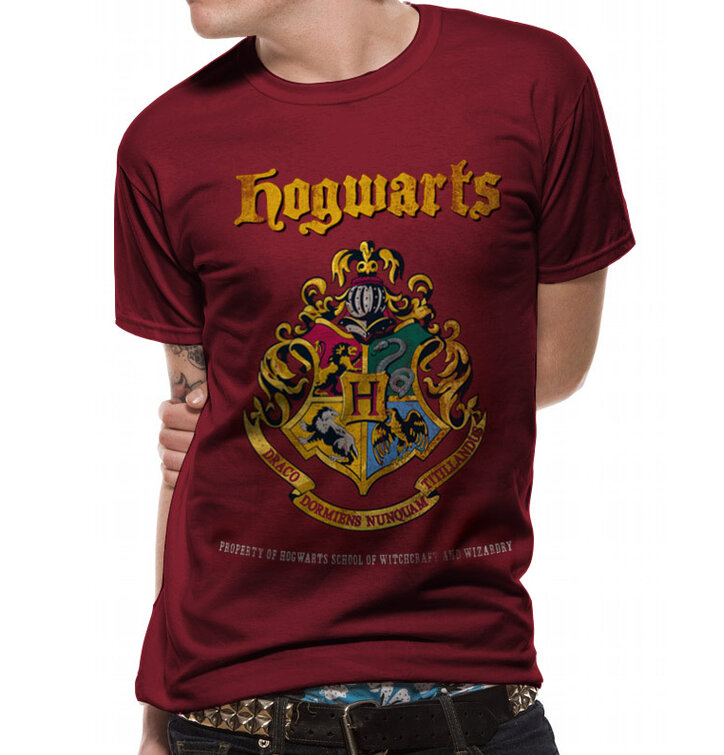 Tričko Harry Potter Bradavický majetek