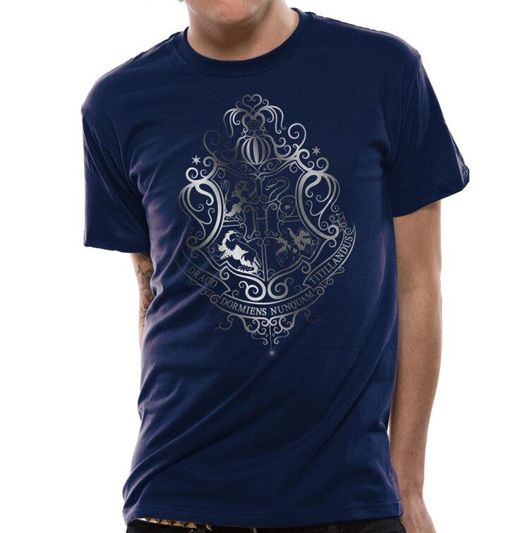 Tričko Harry Potter Strieborný erb