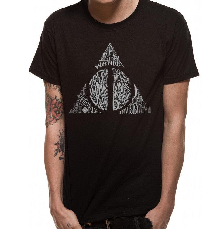 Tričko Harry Potter Symbol Dary smrti