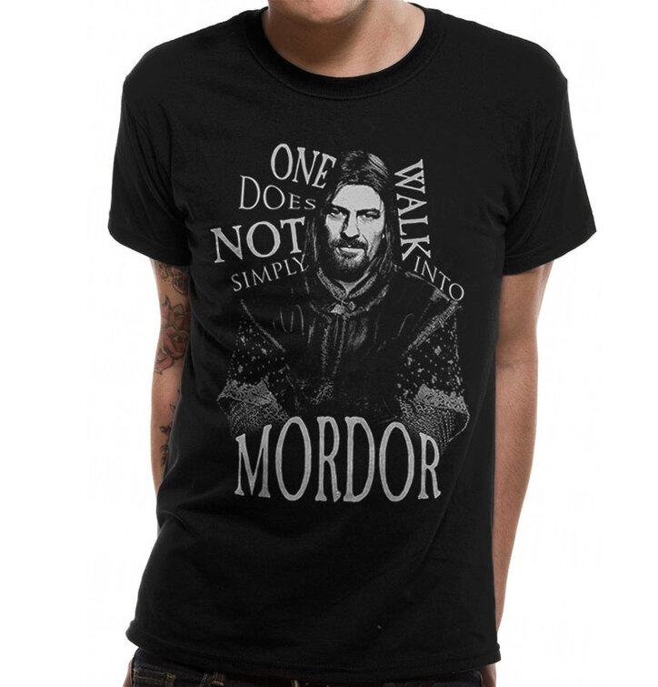 Póló Gyűrűk ura Walk Into Mordor