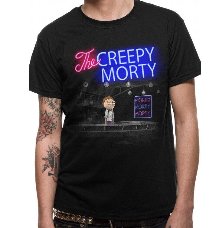 Tričko Rick and Morty Bartender Morty