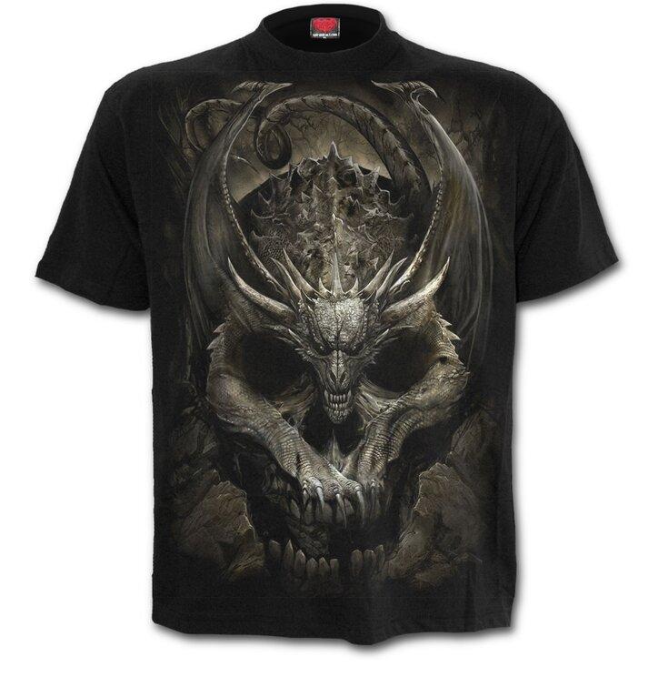 Tričko Kostra draka