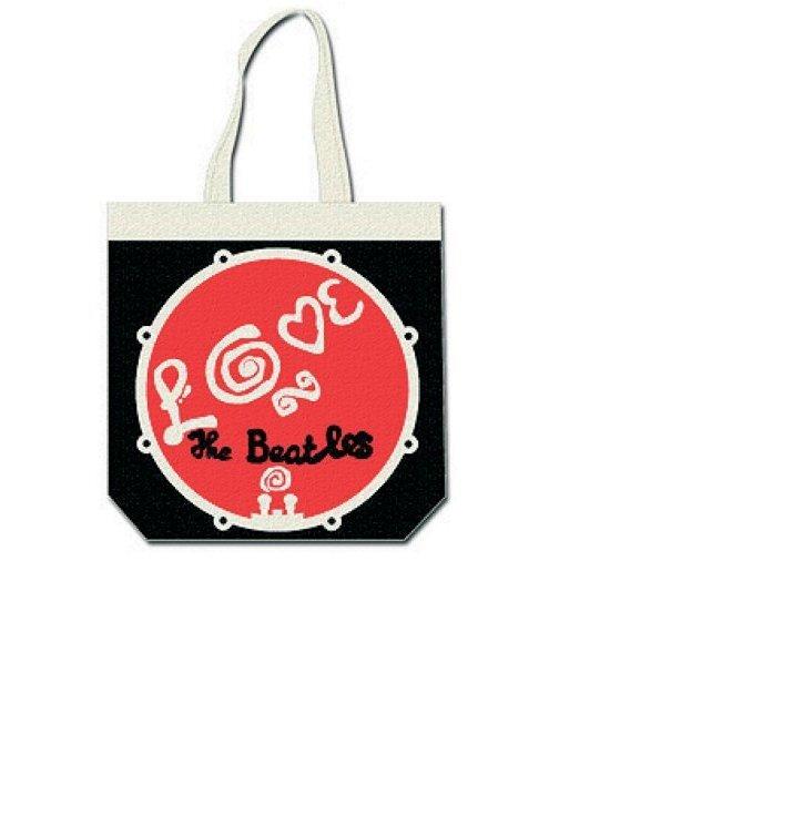 18bf0b605f Výpredaj Tote taška na rameno The Beatles Love Drum