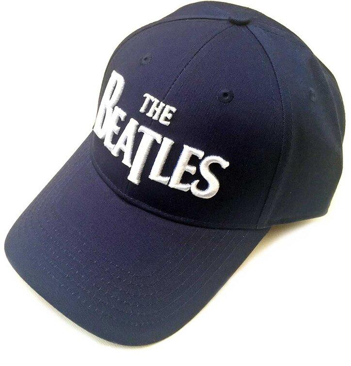 Lifestyle fotó Sötétkék siltes sapka The Beatles Men s White Drop T Logo febd000f72
