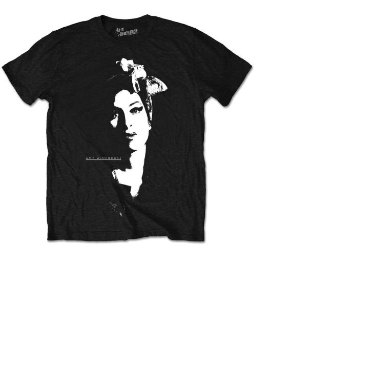 Tričko Amy Winehouse Scarf Portrait