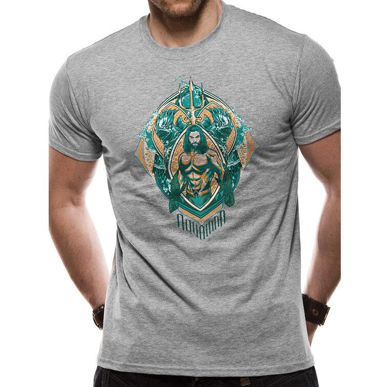Tričko Aquaman movie - Crest