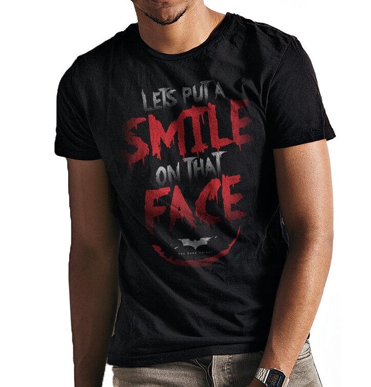Tričko Batman - Smile quote