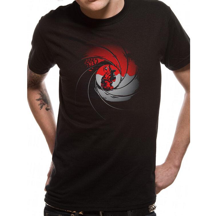 Tričko Deadpool - Gun barrel