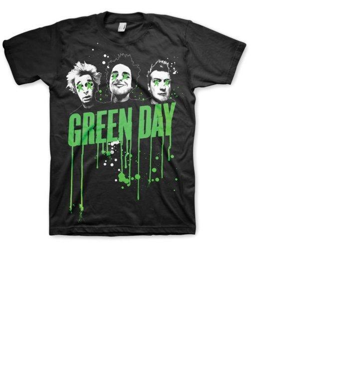 Тениска Green Day Drips