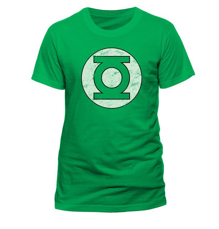 Тениска Green Lantern - Distressed logo