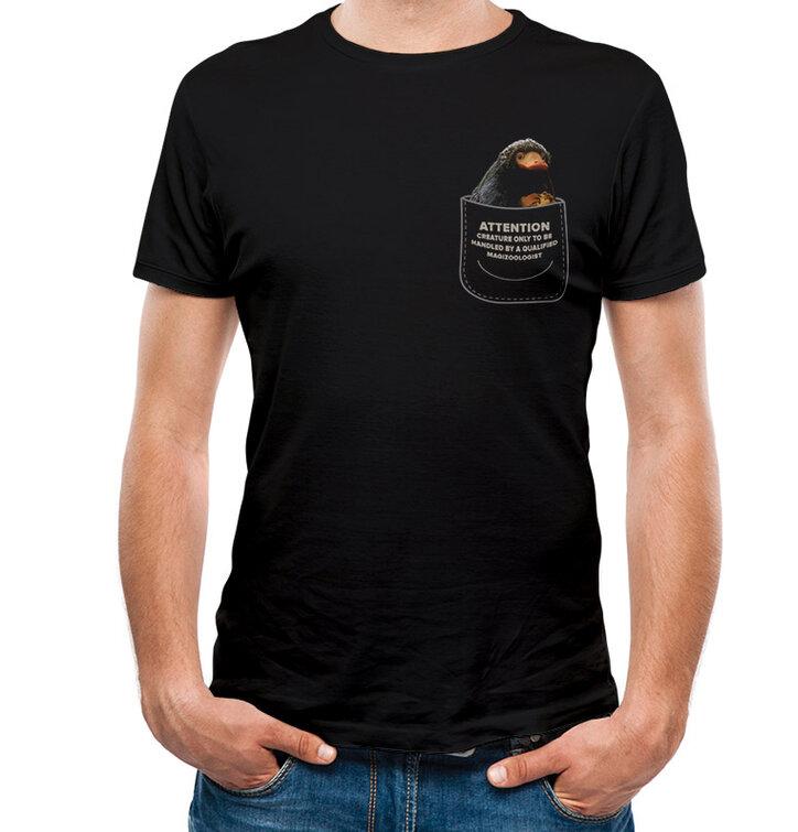 Тениска Фантастични животни - Нифлър в джоба