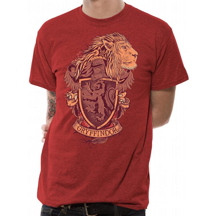 Tričko Harry Potter - Erb Chrabromilu