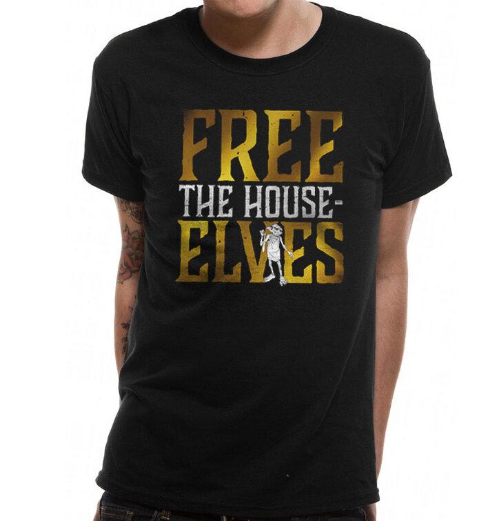 Tričko Harry Potter - Osloboďte domových škriatkov
