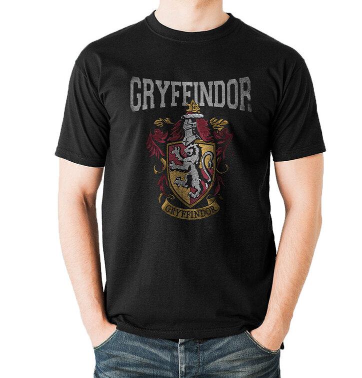 Tričko Harry Potter - Univerzitný erb Chrabromilu