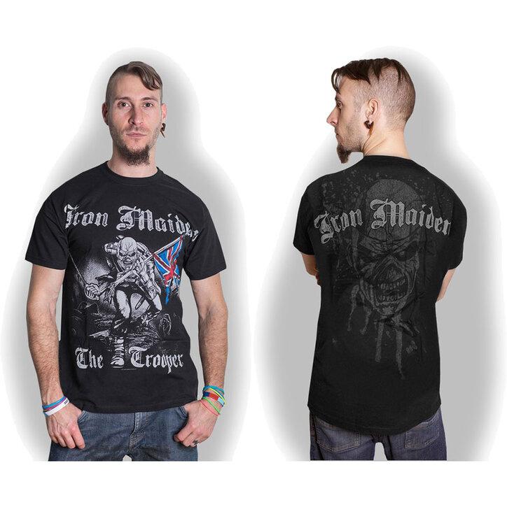 Tričko Iron Maiden Sketched Trooper