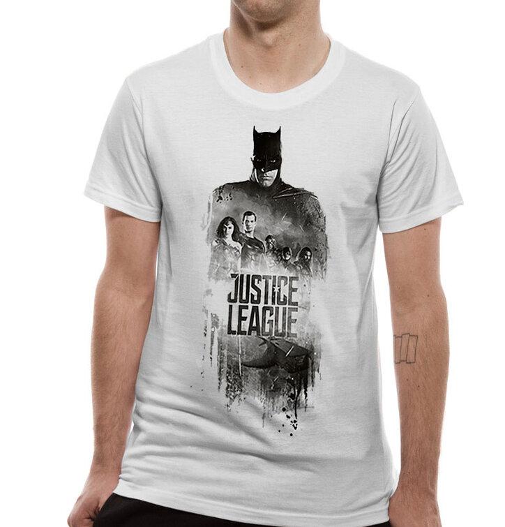 Tričko Justice League movie - Batman silhouette