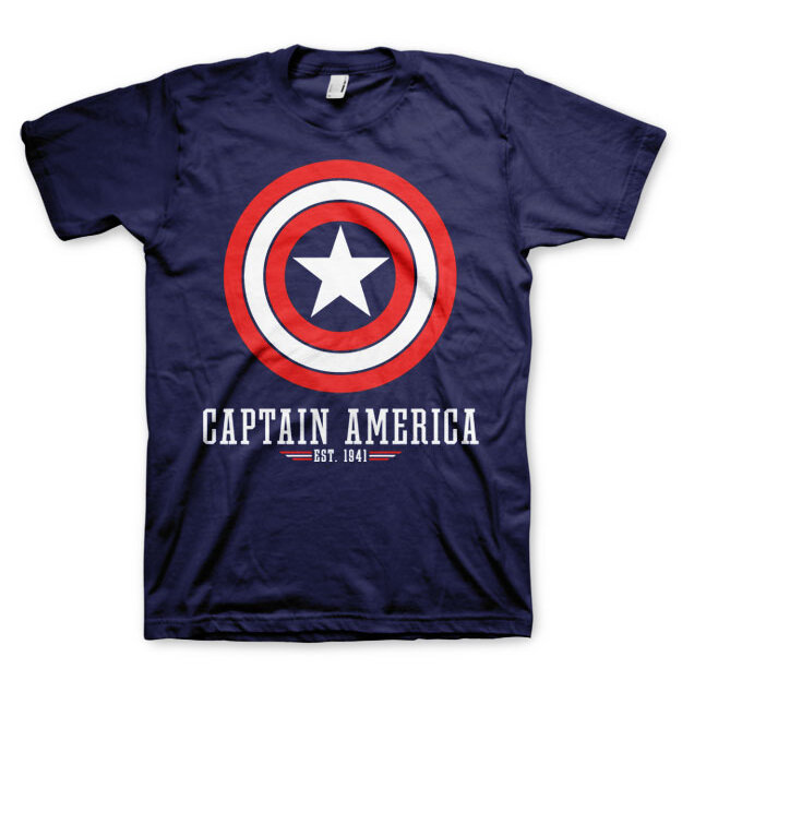 Tričko Marvel Comics Captain America Logo