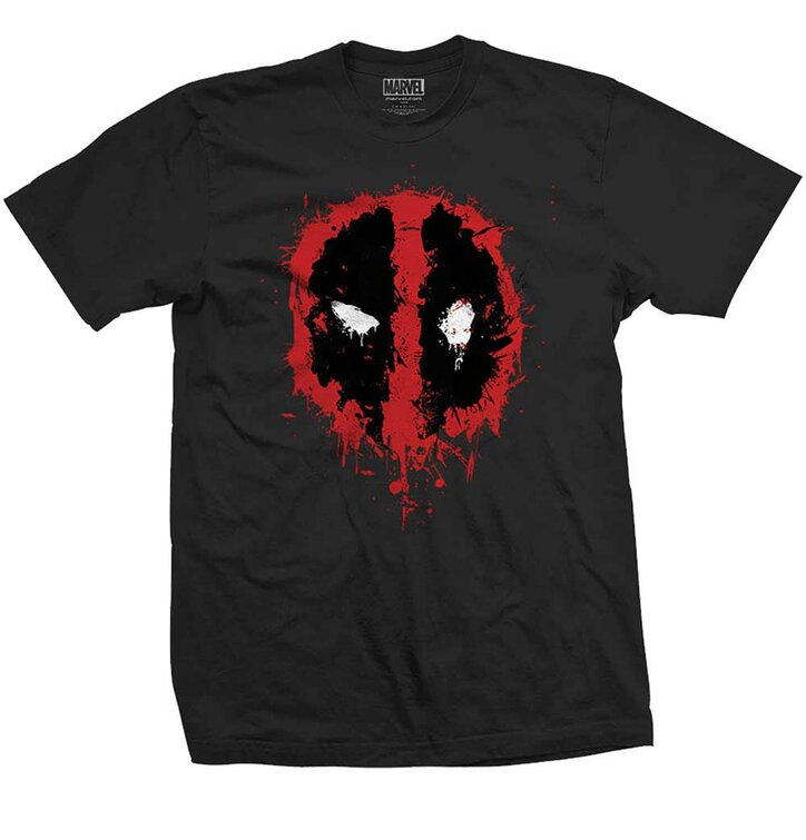 Marvel Comics Deadpool Splat Icon pólo