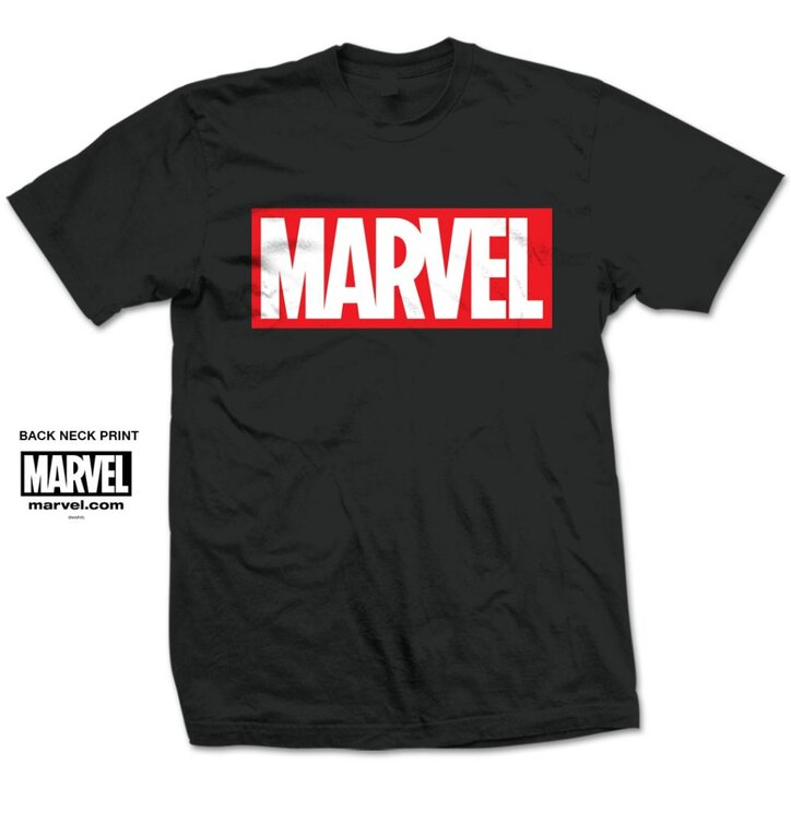 Marvel Comics Marvel Box Logo pólo