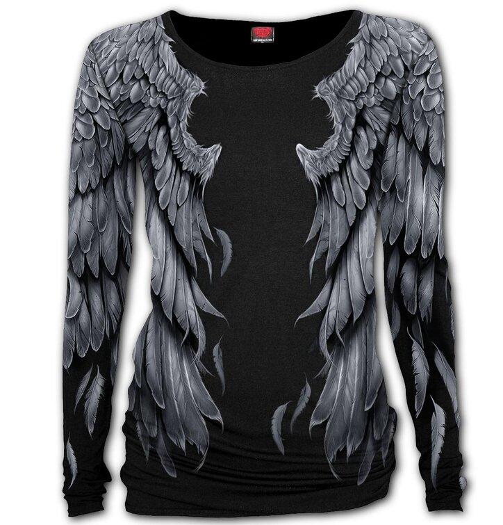 Tričko s dlhým rukávom Krídla slobody