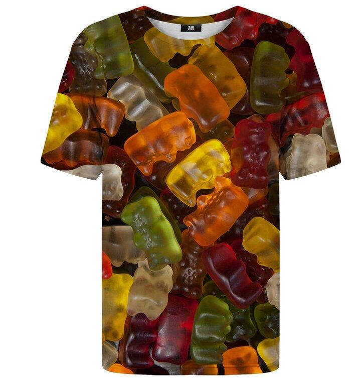 Tričko s krátkym rukávom Gumené medvedíky