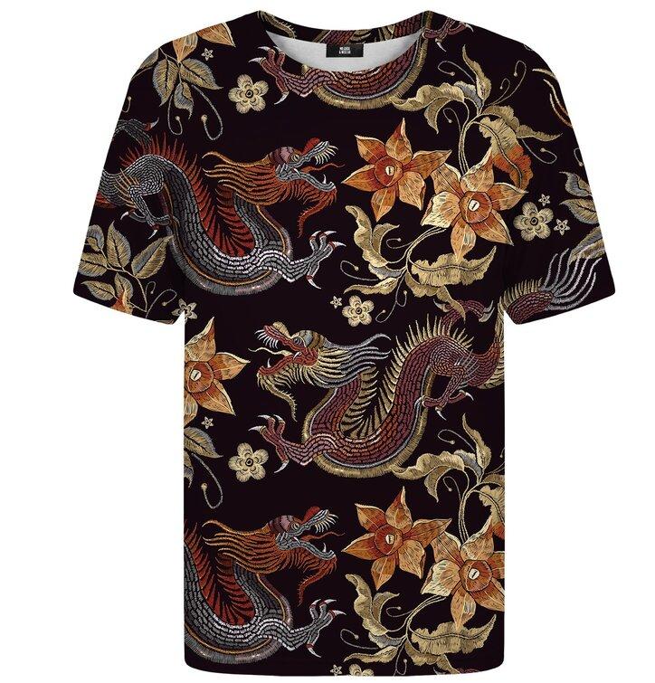 Tričko s krátkym rukávom Japonský drak