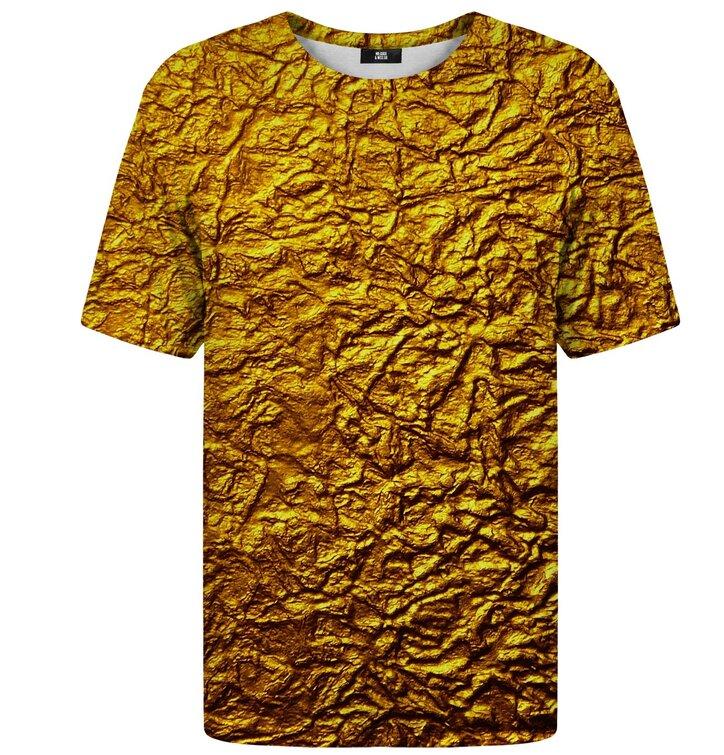 T-Shirt mit kurzen Ärmeln Gold