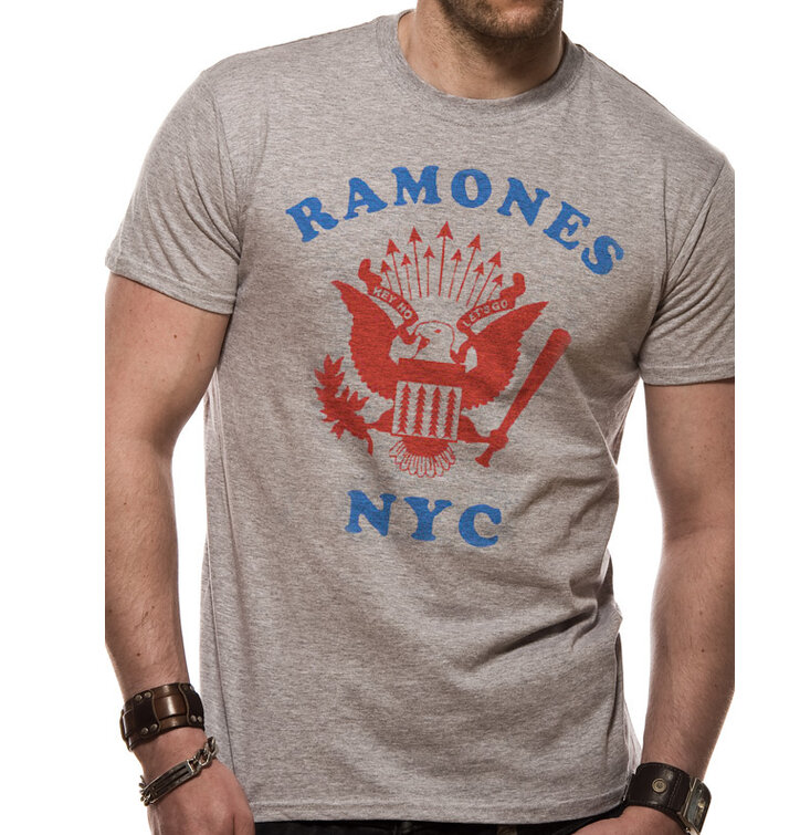 T-Shirt The Ramones - Retro eagle NYC