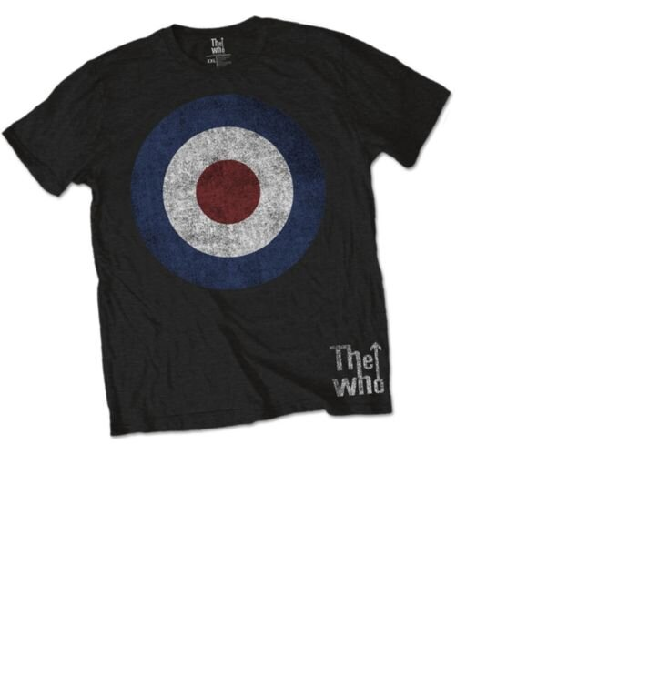 The Who Target Distressed pólo