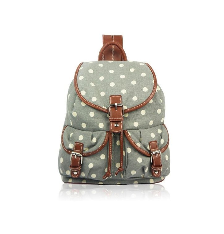 Rucsac tip sac Grey dot
