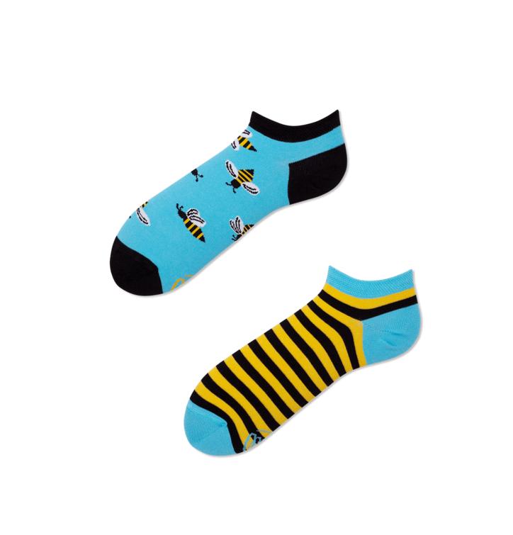 Veselé kotníkové ponožky Včely