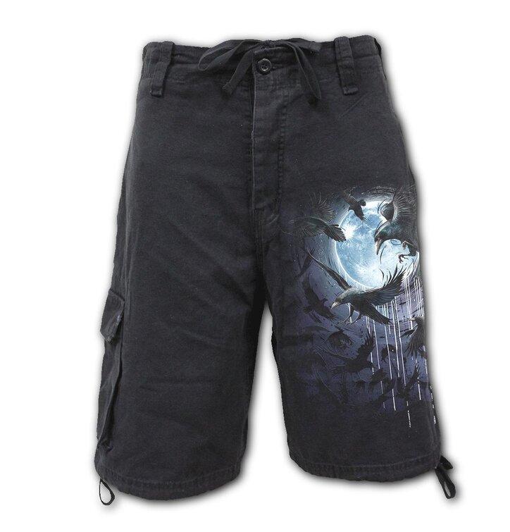 Pánske krátke nohavice Vrany v splne