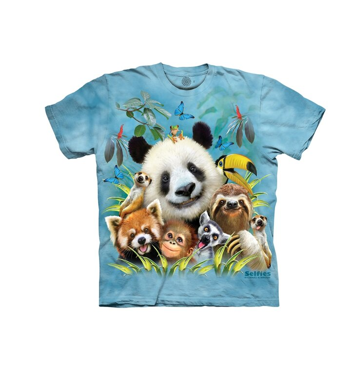 Koszulka dla malucha Zoo selfie