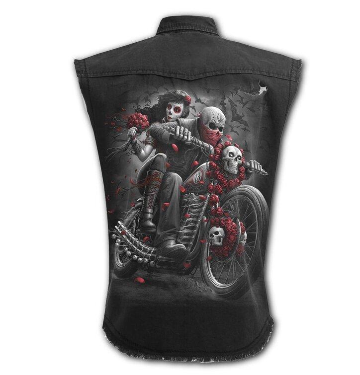 73ca7c41df3e Hľadáte originálny a nezvyčajný darček  Obdarovaného zaručene prekvapí  Košeľa bez rukávov Plus Size Mŕtvy motorkár