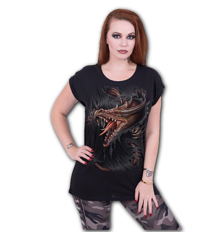 Dámske tričko Útek draka