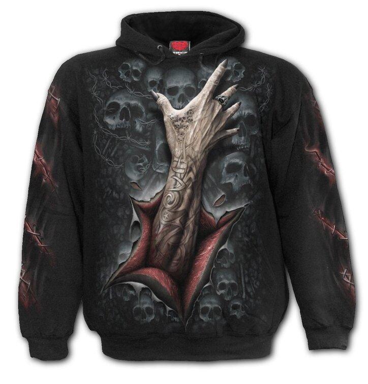 Bluza z kapturem Ręka Zombie