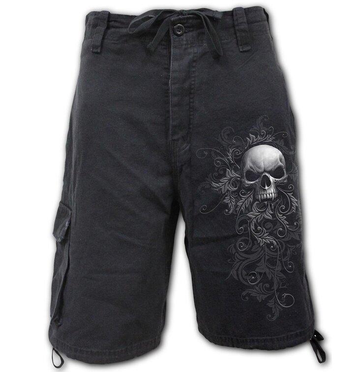 Pánske krátke nohavice Temný ornament