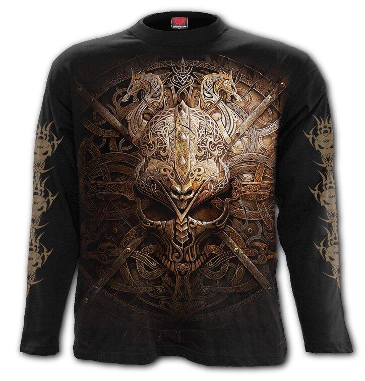 Koszulka z długim rękawem Tarcza wikingów