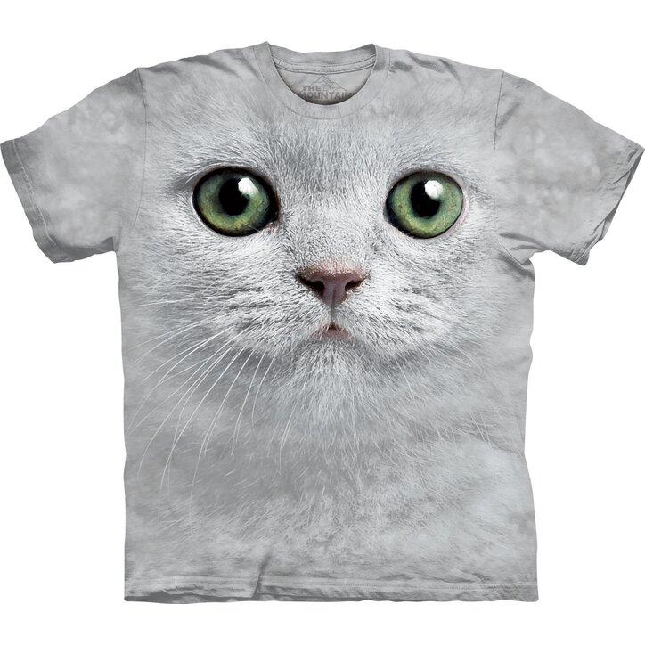 619288049f Tip na darček Tričko Mačka so zelenými očami