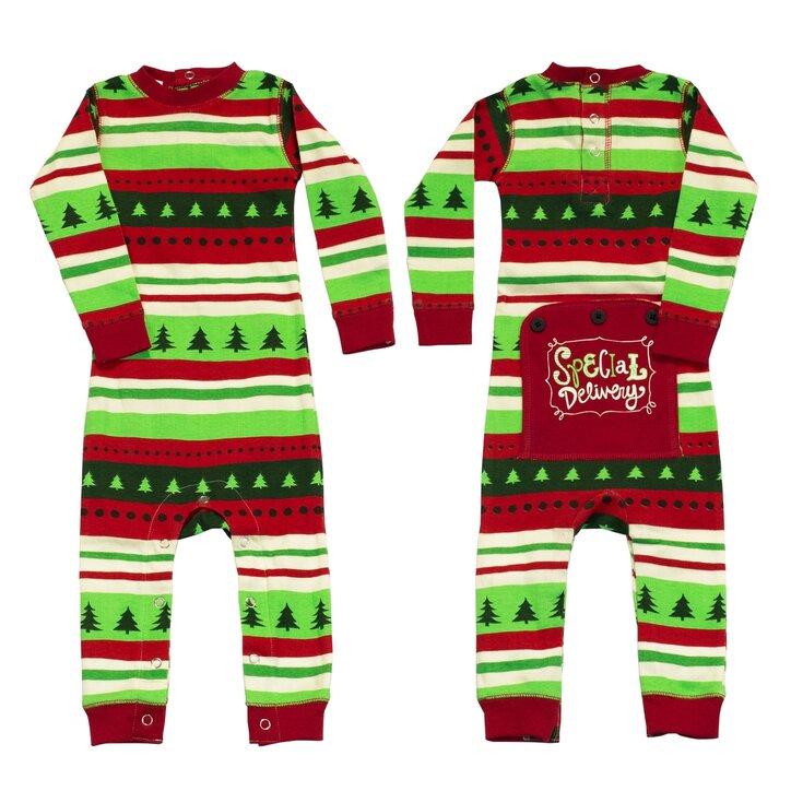 719c7b6f2 Hľadáte originálny a nezvyčajný darček? Obdarovaného zaručene prekvapí  Detské Jednodielne Pyžamo Škriatkovské - Batoľa