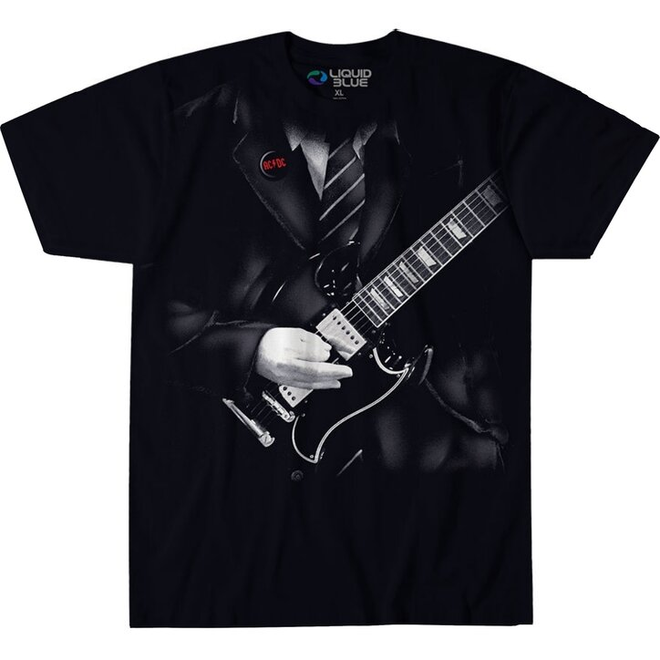 Young Acdc Angus Shirt T SchwarzDedoles Musik nkXOP8w0