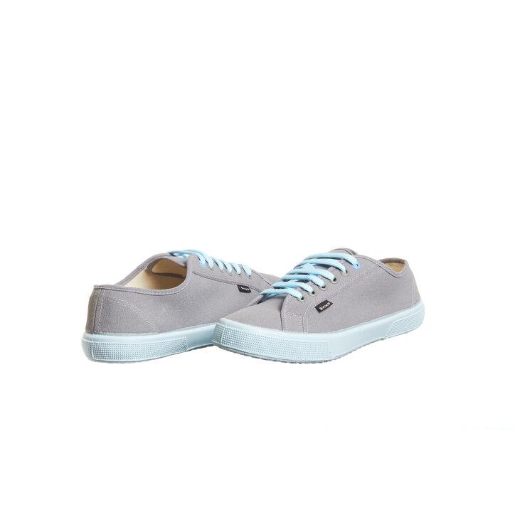 c99019382 Výnimočný darček od Dedoles Dámske plátené konopné tenisky sivo-modré